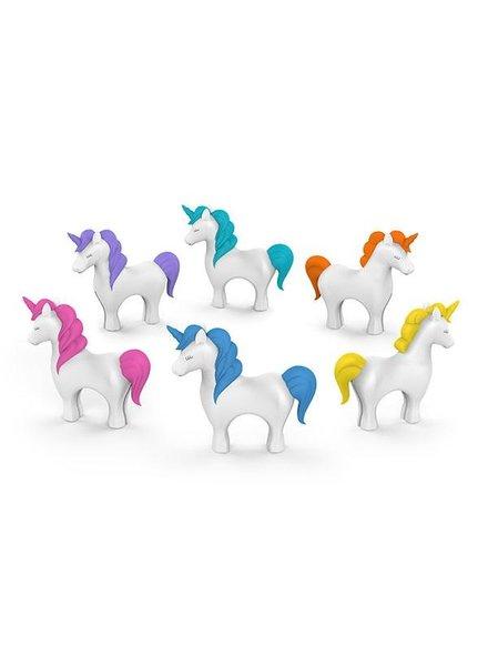 Fred & Friends Wine Charms Tiny Prancer Unicorns