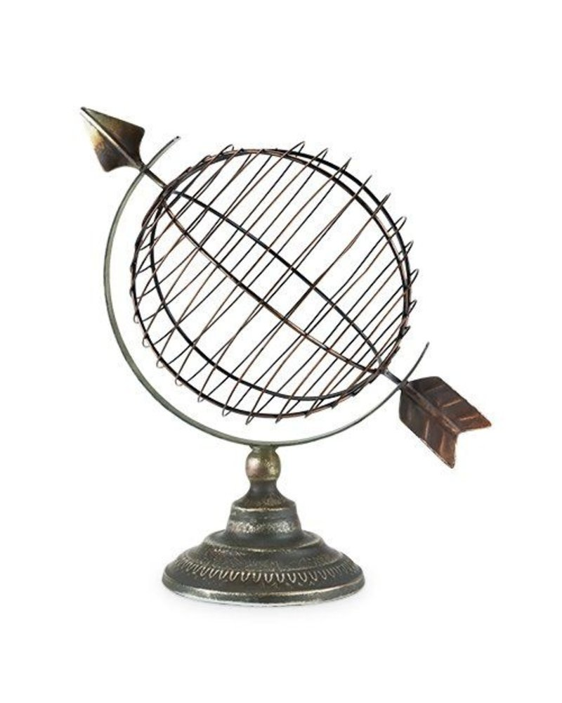 Twine Cork Holder Decor Globe