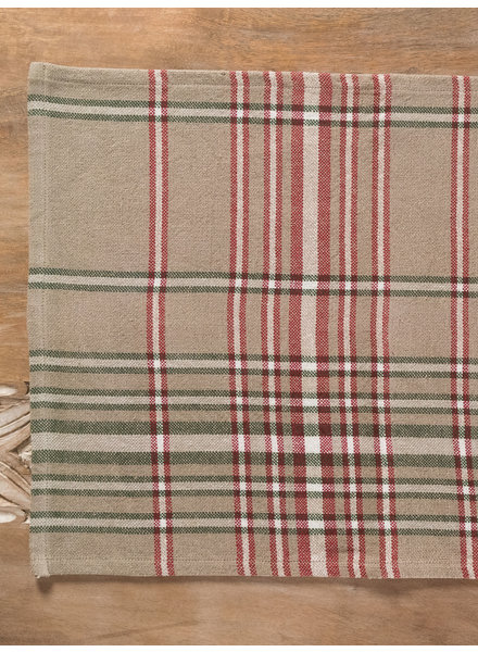 Placemat Plaid Holiday