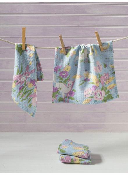 April Cornell Tiny Towel Friendly Aqua