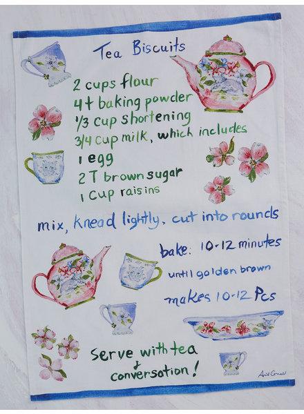 April Cornell Tea Towel Biscuit