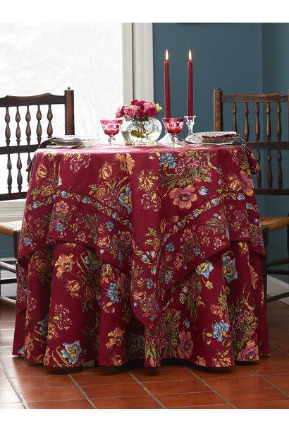Table Cloth 60x108 Jaipur Garden Wine