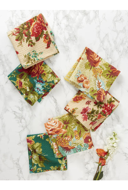 Tiny Tea Towels Everyday Patchwork S/6
