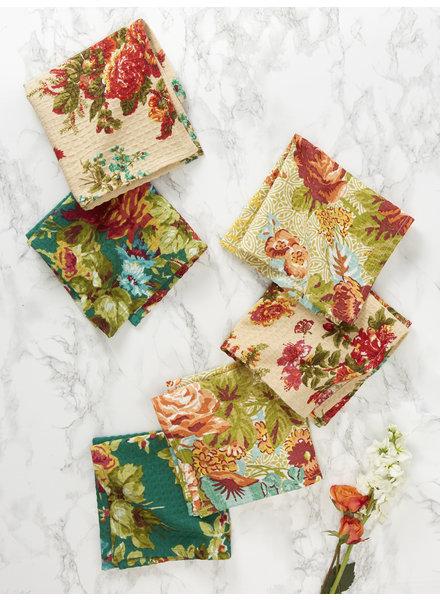April Cornell Tiny Tea Towels Everyday Patchwork S/6