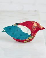 April Cornell Pincushion Bird Jewel Patchwork