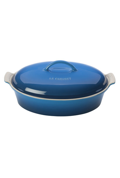 Heritage Covered Oval Casserole 4QT (14'') Marseille