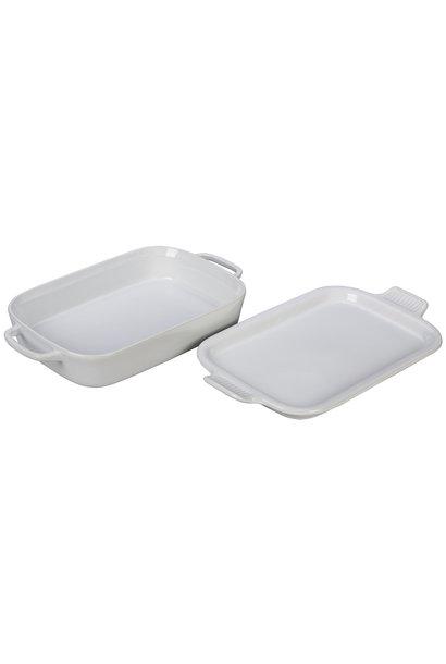 "Rectangular Baking Dish with Platter Lid 2.75QT (13"" x 9"")"