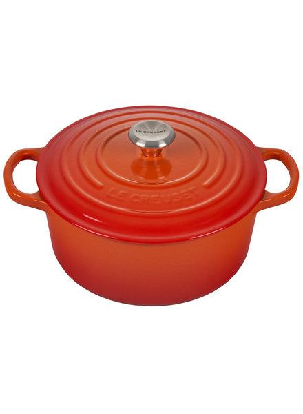 Le Creuset Signature Round Dutch Oven Flame
