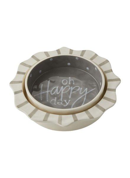 Mud Pie Happy Nested Casserole Set