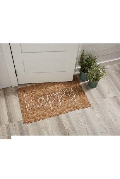 Happy Jute Applique Mat