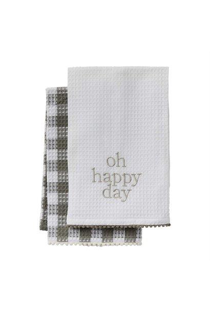 Happy Towel Set