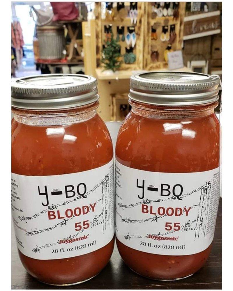 4J-BQ Sauces 4J Bloody 55 28z