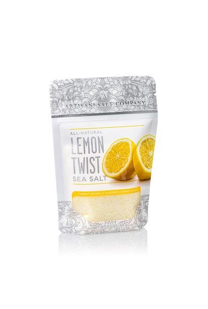 Lemon Fusion Sea Salt 3.5oz Zip Pouch