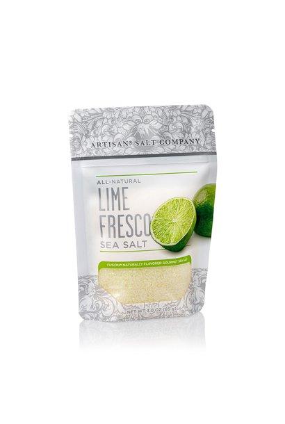 Lime Fusion Sea Salt 3oz Zip Pouch