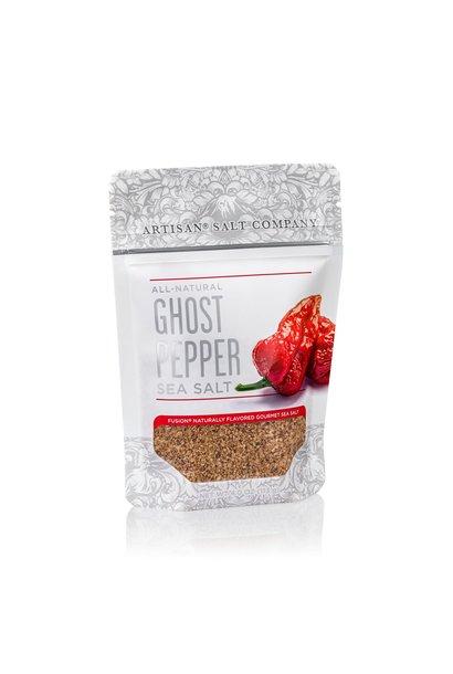 Ghost Pepper Fusion Sea Salt 4oz Zip Pouch
