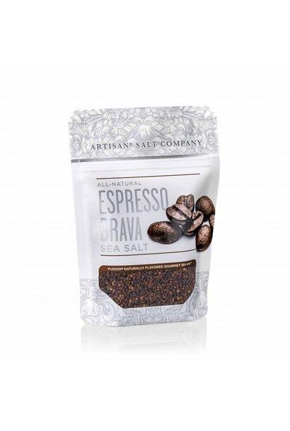 Espresso Brava Fusion Sea Salt 3.5oz Zip Pouch