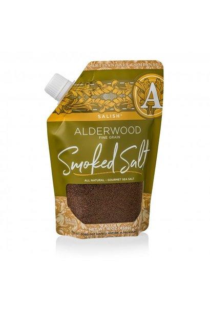 Salish Alderwood Smoked Coarse Sea Salt 16oz Pour Pouch