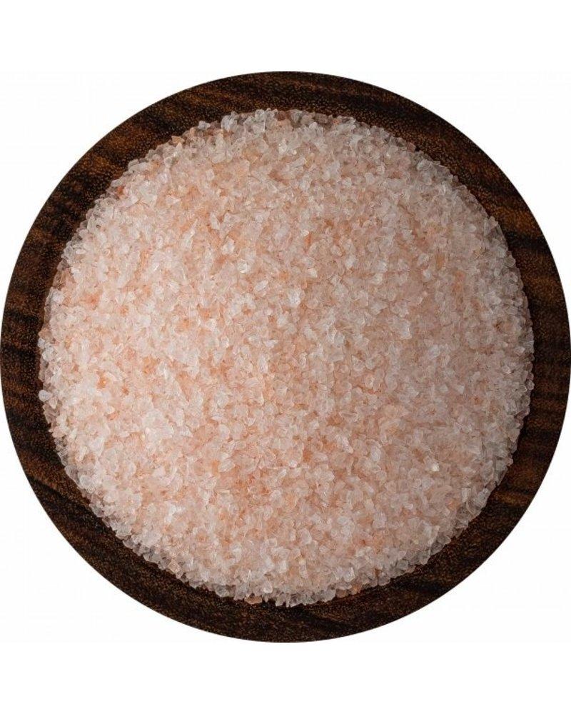 SaltWorks Bolivian Rose Andes Mountain Coarse Mineral Salt 16oz Pour Pouch