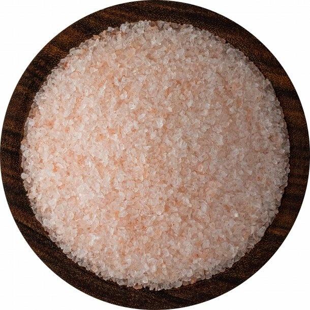Bolivian Rose Andes Mountain Coarse Mineral Salt 16oz Pour Pouch-2