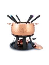 Swissmar Biel 11PC Copper Fondue Set
