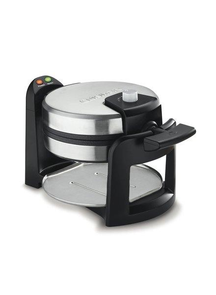 Cuisinart Waffle Maker Belgian Rotating Round
