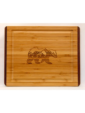 Island Bamboo Pakka RB Cutting Board SM Bear