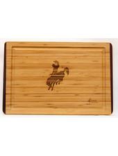 Island Bamboo Rainbow Carving Board Lg Cowboy