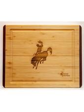 Island Bamboo Pakka RB Cutting Board SM Cowboy
