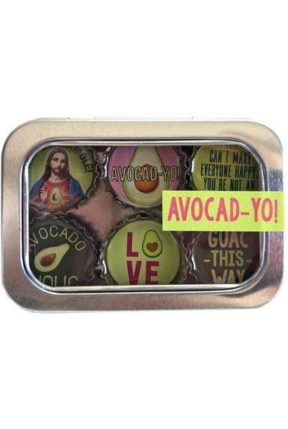 Magnet Set Avocado