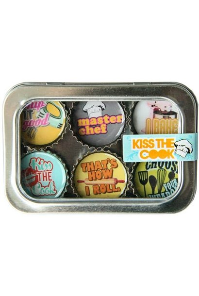 Magnet Set Kiss The Cook
