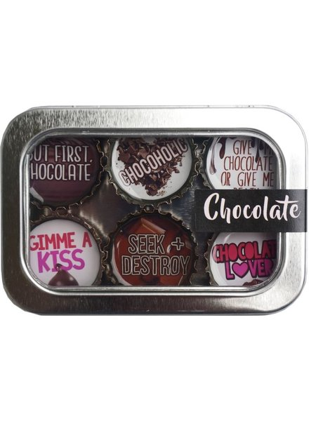 Kate's Magnets Magnet Set Chocolate