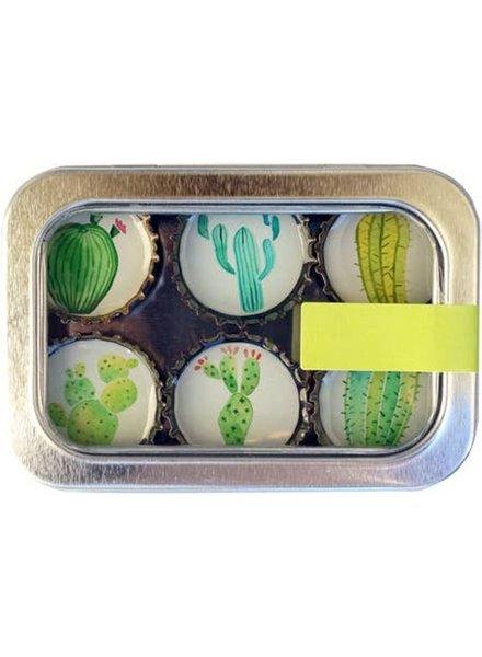 Kate's Magnets Magnet Set Cactus