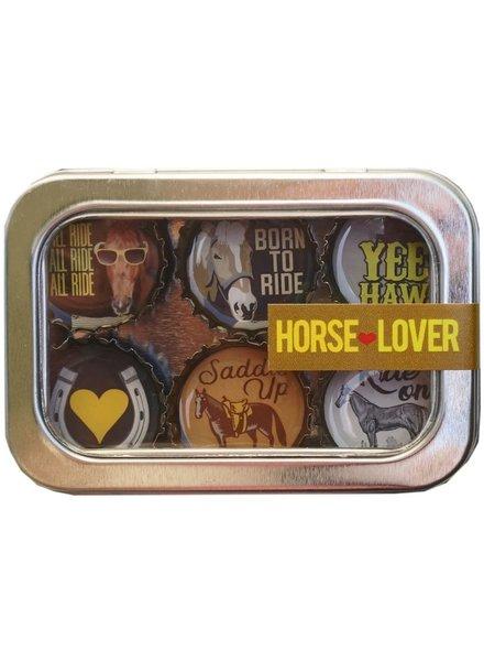 Kate's Magnets Magnet Set Horse Lover