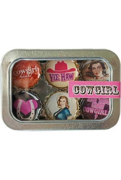 Magnet Set Cowgirl