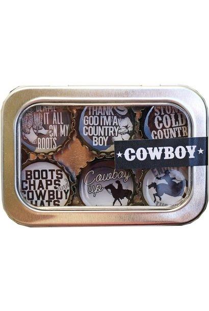 Magnet Set Cowboy