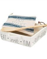 Mud Pie Bistro Baker & Trivet Set