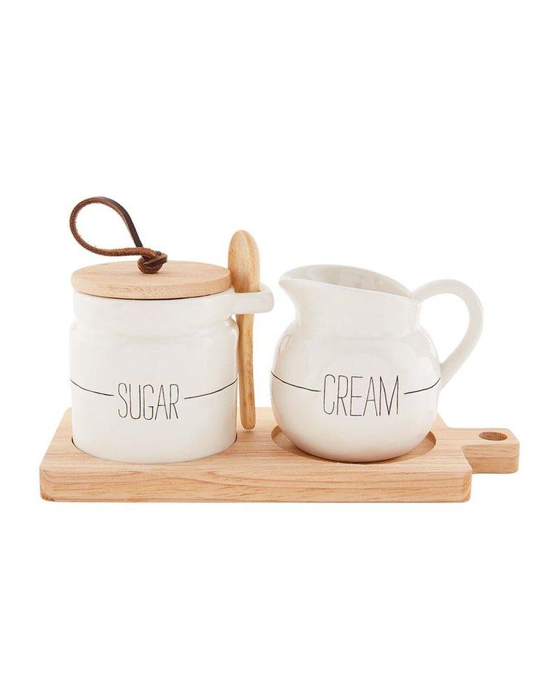 Bistro Sugar And Creamer Set