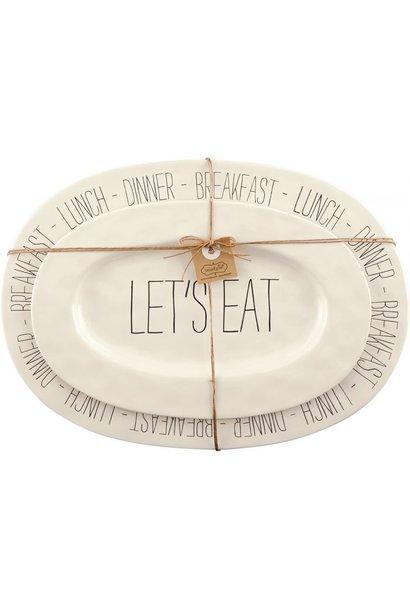 Nested Bistro Platter Set