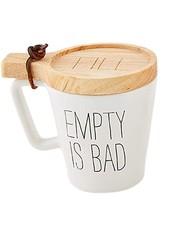 Empty Mug And Coaster Set