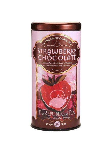 Republic of Tea Dessert Tea Cuppa Chocolate Strawberry Chocolate