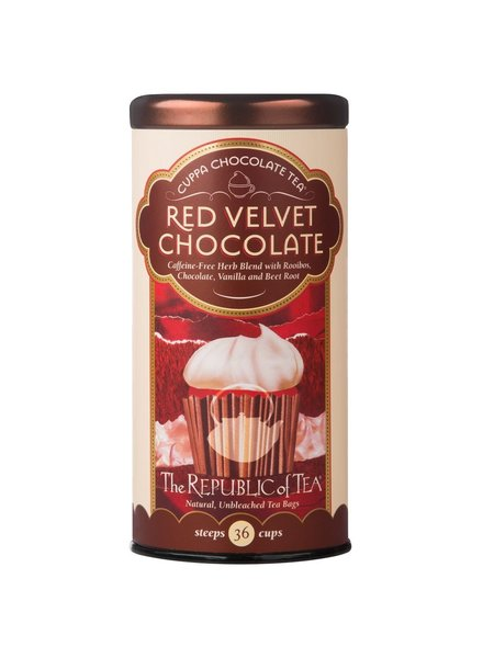 Republic of Tea Dessert Tea Cuppa Chocolate Red Velvet Chocolate