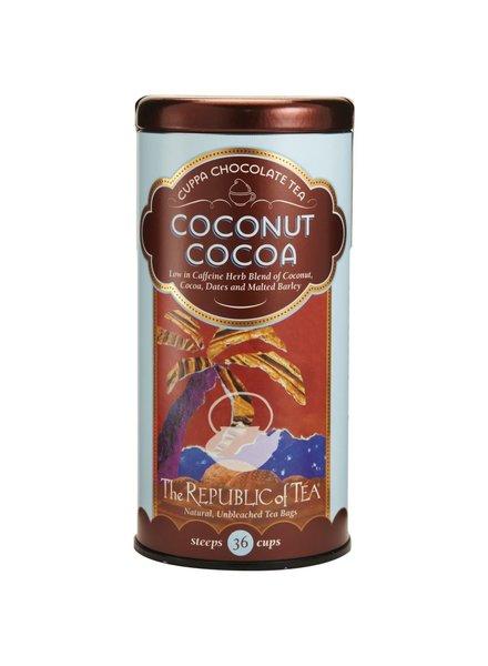 Republic of Tea Dessert Tea Cuppa Chocolate Coconut Cocoa