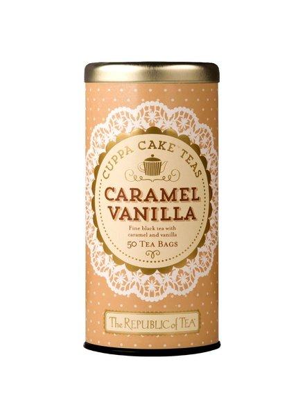 Republic of Tea Dessert Tea Cuppa Cake Caramel Vanilla