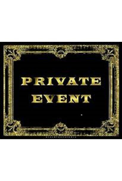 11/12/21- Private Event
