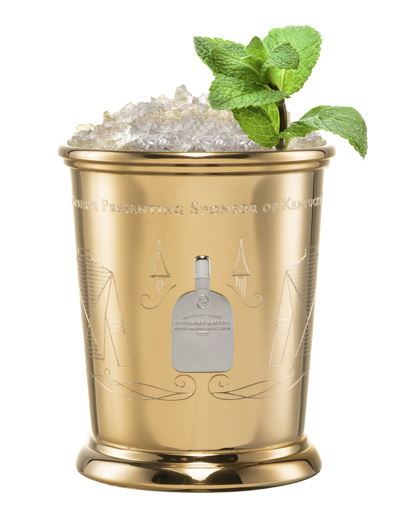 From the Vault Woodford Reserve $2,500 Mint Julep Gold Cup