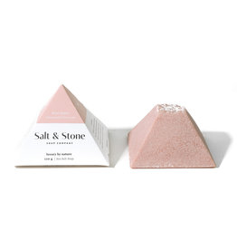 SALT & STONE ROSE QUARTZ SEA SALT SOAP