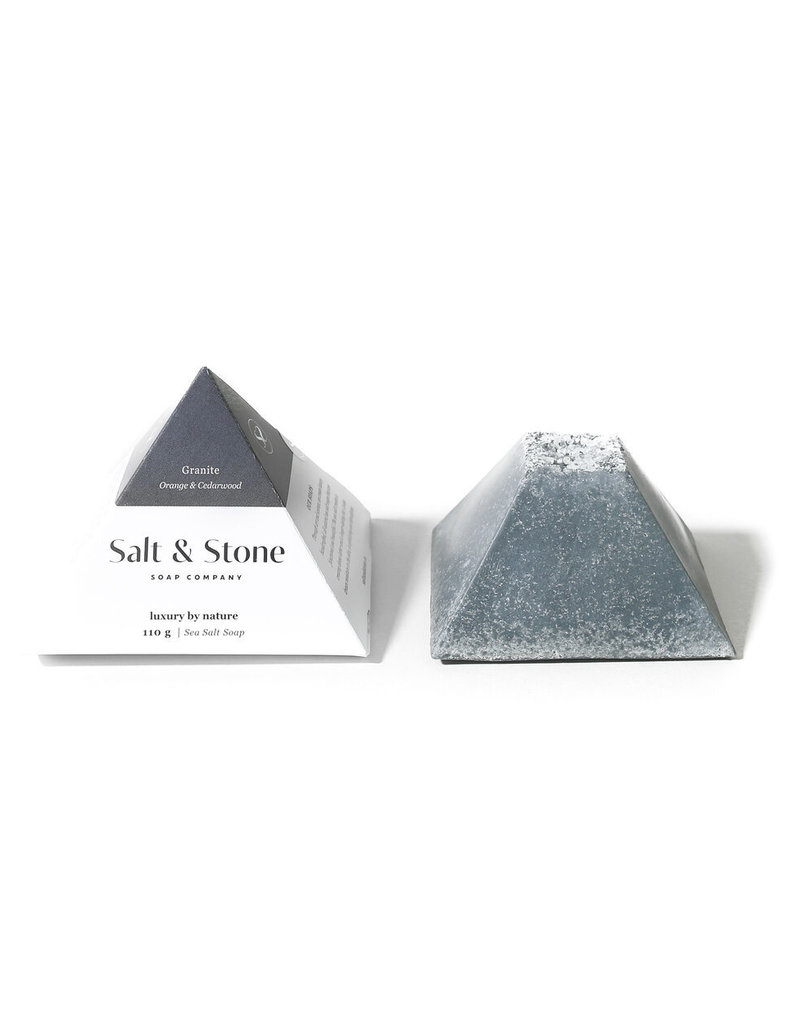SALT & STONE GRANITE SEA SALT SOAP