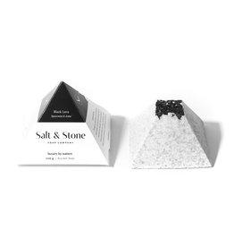 SALT & STONE BLACK LAVA SEA SALT SOAP