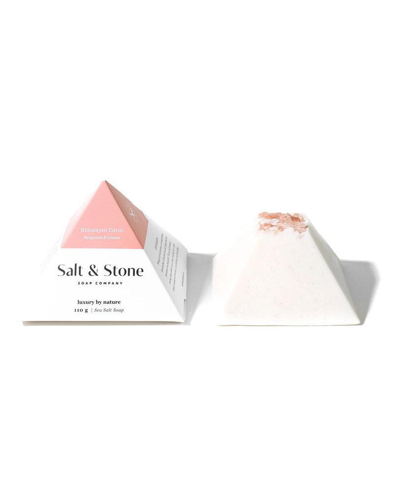 SALT & STONE HIMALAYAN CITRUS SEA SALT SOAP