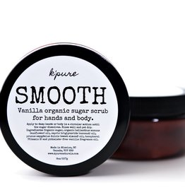 K'PURE SMOOTH ORGANIC SUGARR SCRUB FOR HANDS AND BODY - (KPSMOOTH)